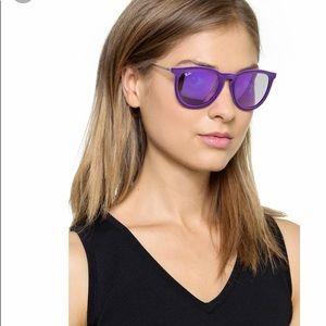 Purple velvet ray-bans